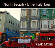 North Beach / Little Italy Tours - Click Here!